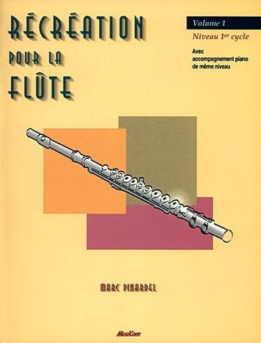 Récréation Pour la Flute - Volume 1 - Partition - laflutedepan.com