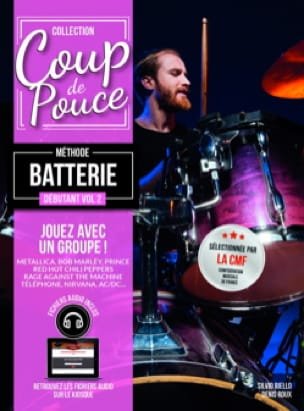 COUP DE POUCE - Method Battery Beginner Volume 2 - Partition - di-arezzo.co.uk