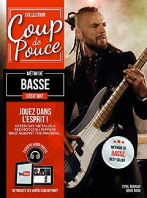 COUP DE POUCE - Beginner Bass Method - Partition - di-arezzo.com