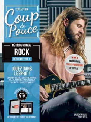 COUP DE POUCE - Beginner Rock Guitar Method Volume 1 - Partition - di-arezzo.co.uk