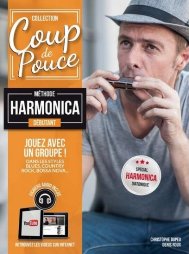 COUP DE POUCE - Beginner Harmonica Method - Partition - di-arezzo.co.uk