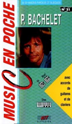 Music en poche N° 21 - Pierre Bachelet - Partition - laflutedepan.com