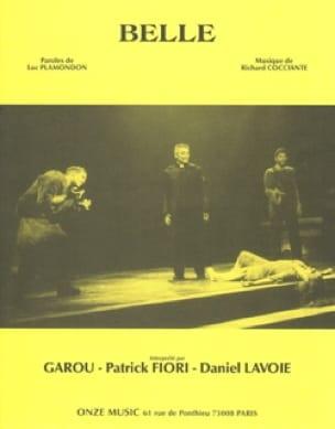 Richard Cocciante & Luc Plamondon - Belle - Music of the musical Notre Dame de Paris - Partition - di-arezzo.co.uk