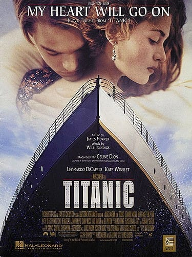 Horner James / Jennings Will - My Heart Will Go On Titanic Movie - Partition - di-arezzo.co.uk