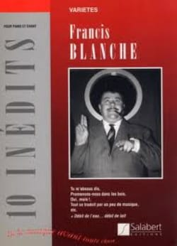 Francis Blanche - 10 Unpublished - Partition - di-arezzo.co.uk