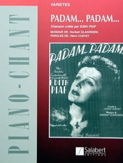 Edith Piaf - Padam, Padam - Partition - di-arezzo.co.uk