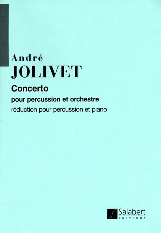 Concerto - André Jolivet - Partition - laflutedepan.com