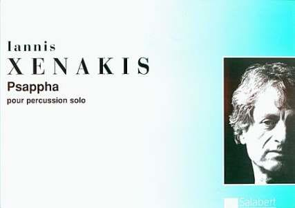 Iannis Xenakis - Psappha - Partition - di-arezzo.fr