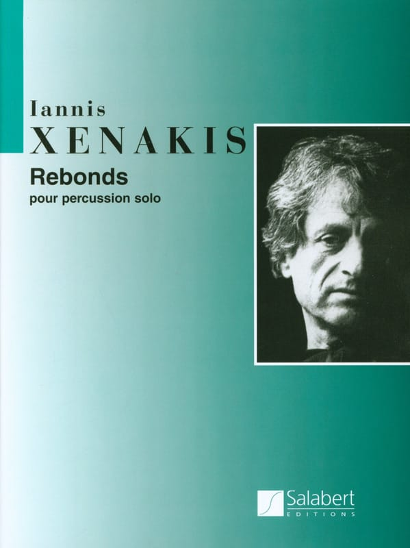 Rebonds - XENAKIS - Partition - Multi Percussions - laflutedepan.com
