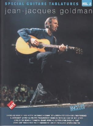 Jean-Jacques Goldman - Special Guitar Tablatures Volume 2 - Partition - di-arezzo.co.uk