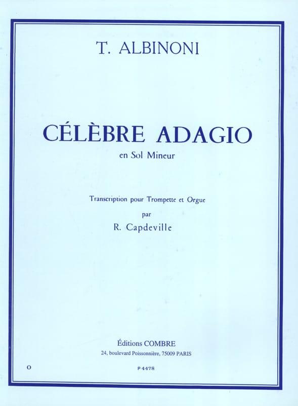 Tomaso Albinoni - Famous Adagio In Miner Minor - Partition - di-arezzo.com