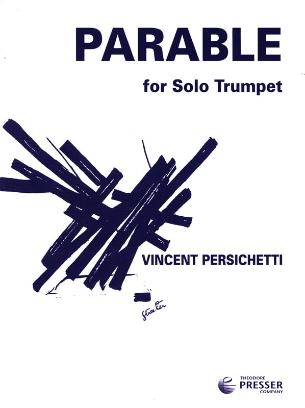 Vincent Persichetti - Parable 14 opus 127 - Partition - di-arezzo.com