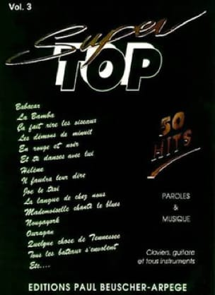 Super top volume 3 - 50 Hits - Partition - laflutedepan.com