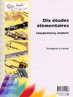 Claude-Henry Joubert - 10 Elementary studies - Partition - di-arezzo.co.uk