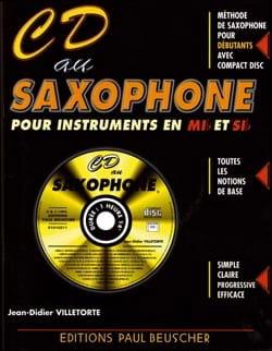 Didier Villetorte - CD on Eb and Bb saxophone - Partition - di-arezzo.com
