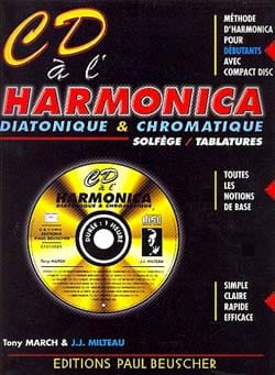 March Tony / Milteau Jean-Jacques - CD on the harmonica - Partition - di-arezzo.co.uk