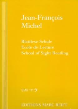 Ecole de lecture - Clé de Fa - Jean-François Michel - laflutedepan.com