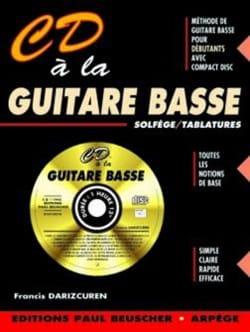 CD A la Guitare Basse - Françis Darizcuren - laflutedepan.com