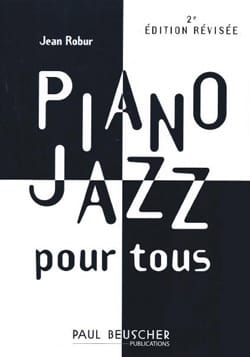 Jean Robur - Jazz Piano For All - Partition - di-arezzo.co.uk