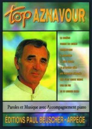 Charles Aznavour - Top Aznavour - Partition - di-arezzo.co.uk
