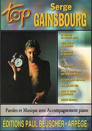 Serge Gainsbourg - Top Serge Gainsbourg - Partition - di-arezzo.com