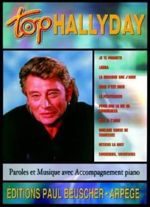 Johnny Hallyday - Hallyday Top - Partition - di-arezzo.es