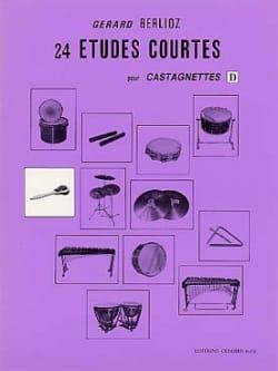 24 Etudes Courtes Volume D - Gérard Berlioz - laflutedepan.com