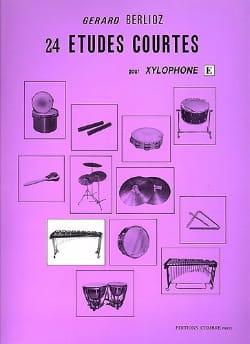 24 Etudes Courtes Volume E - BERLIOZ - Partition - laflutedepan.com