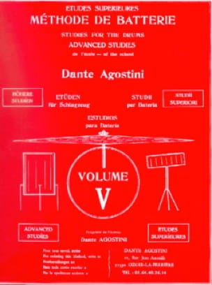 Dante Agostini - Battery method volume 5 - Partition - di-arezzo.com