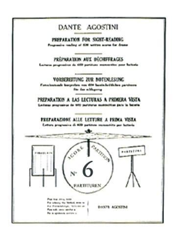 Déchiffrages volume 6 - Dante Agostini - Partition - laflutedepan.com