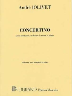 Concertino - André Jolivet - Partition - Trompette - laflutedepan.com