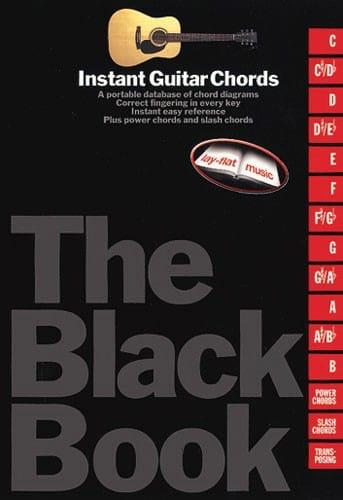 - Instant Guitar Chords Black Book - Partition - di-arezzo.com