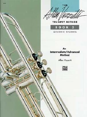 Allen Vizzutti - Trumpet method volume 3 - Melodic studies - Partition - di-arezzo.com