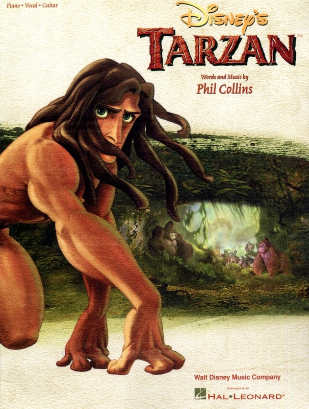 Tarzan Version Anglaise - Phil Collins - Partition - laflutedepan.com