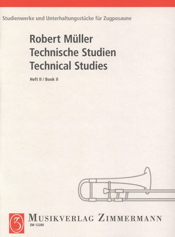 Robert Müller - Technical Studies Volume 2 - Partition - di-arezzo.fr