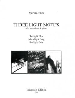 Three Light Motifs - Martin Jones - Partition - laflutedepan.com
