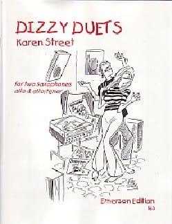 Dizzy Duets - Karen Street - Partition - Saxophone - laflutedepan.com