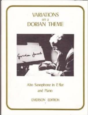 Gordon Jacob - Variations On A Dorian Theme - Partition - di-arezzo.com