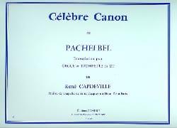 Célèbre Canon - Johann Pachelbel - Partition - laflutedepan.com