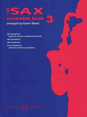 The Sax Ensemble Book 3 - Partition - Saxophone - laflutedepan.com