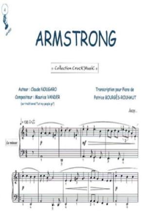 Claude Nougaro - Armstrong - Partition - di-arezzo.es