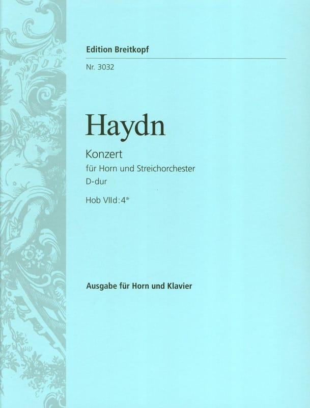 HAYDN - Concierto para trompa N ° 2 en re mayor - Partition - di-arezzo.es