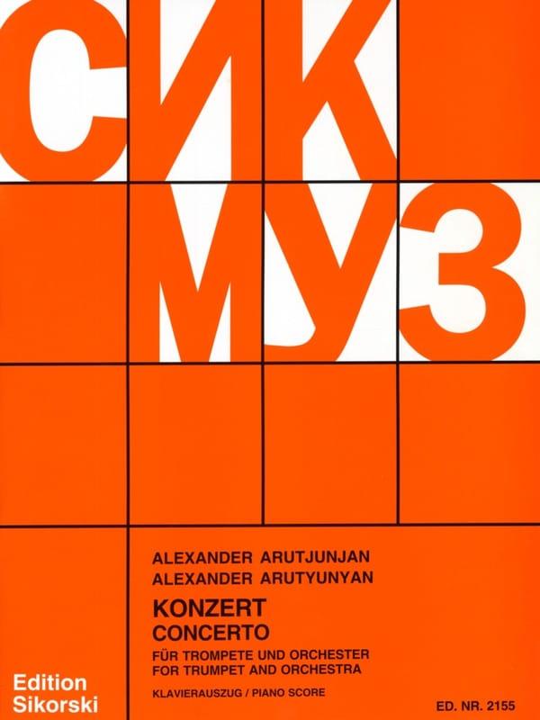 Concerto - Alexander Arutjunjan - Partition - laflutedepan.com