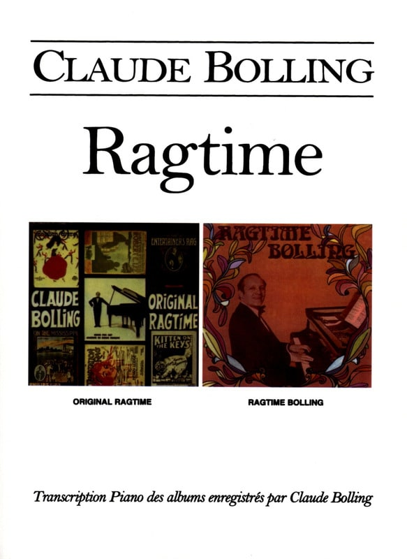 Claude Bolling - ragtime - Partition - di-arezzo.it
