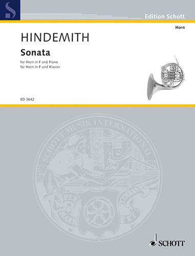 Paul Hindemith - Sonata 1939 - Partition - di-arezzo.co.uk