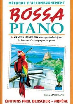 Didier Marchand - Bossa Piano - Partition - di-arezzo.co.uk