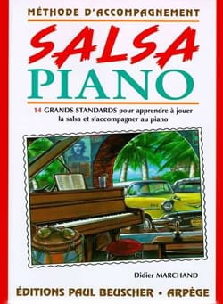 Didier Marchand - Salsa Piano - Partition - di-arezzo.co.uk