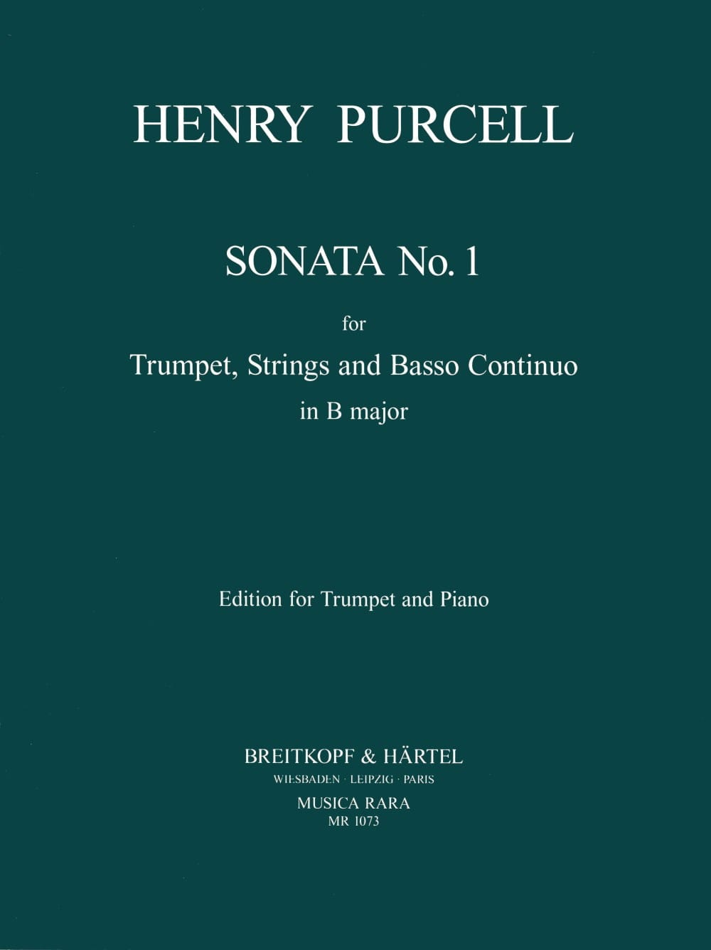 Sonata. Trompette - Henry Purcell - Partition - laflutedepan.com