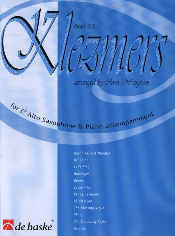 Klezmers Grade 2-3 - Partition - Saxophone - laflutedepan.com