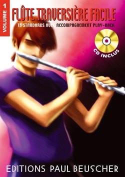 Flûte Traversiere Facile Volume 1 - Partition - laflutedepan.com